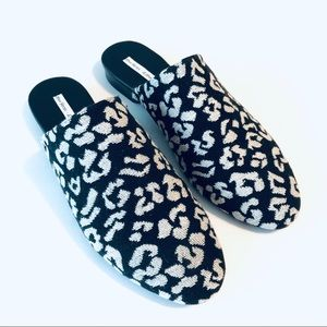 & Other Stories Jacquard Slip On Flats